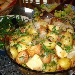 French Roasted Potato Salad