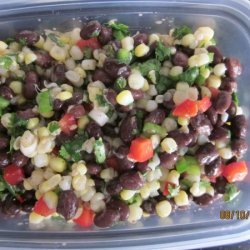 Black Bean And Fresh Corn Salad