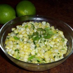Fresh Corn In Cilantro Lime Butter