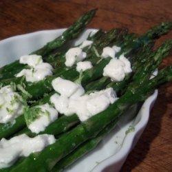 Tangy Roasted Asparagus