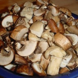 Marsala Laced Mushrooms