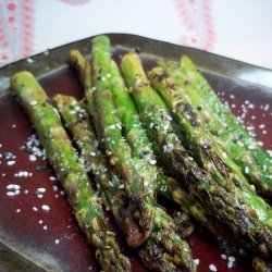Grilled Sesame Asparagus recipe