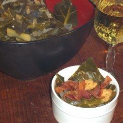 Classy-ed Up Collard Greens recipe