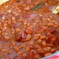 Feijao Com Linguiça (portuguese Beans With Lingui...