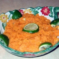 Sweet Potatoes And Blue Cheese