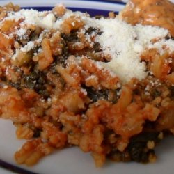 Spinach And Rice: Greek Or Italian?