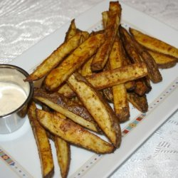 Oven Roasted Chili-cumin Fries recipe