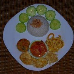 Indonesian Coconut Rice  Nasi Uduk