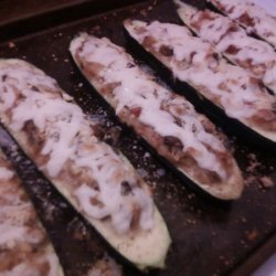 Young Stuffed Zucchini recipe
