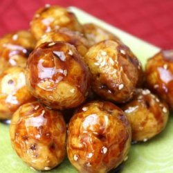 Baby Potatoes In Chinese Sauce