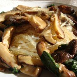 Shitake And Glass Noodle Salad