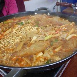 Korean Ricecake Casserole recipe