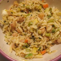 Orzo Vegetable Medley