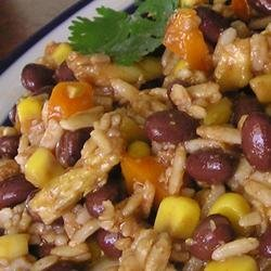 G's Southwestern Black Bean & Brown Rice Salad