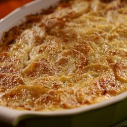 Garlic & Herb Cream Cheese Scalloped Potatoes recipe