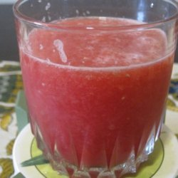 Watermelon-strawberry White Wine Sangria