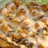 Bill Nicholsons Krispy Kreme Bread Pudding With Bu... recipe