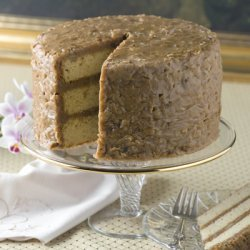 Southern Praline Cake With Southern Praline Icing