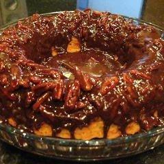 Pecan Chocolate Fudge Ring