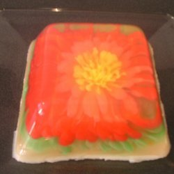 Artistic Flower Jell-o recipe