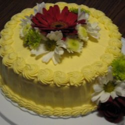 Delicate White Cake From Scratch
