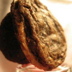 Thin Mocha Chocolate-chocolate Chip Cookies With M...