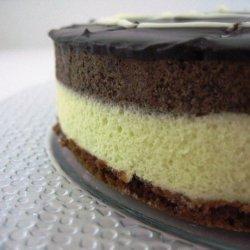 Layered Chcocolate Mousse Cake