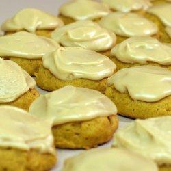 Harvest Pumpkin Spice Cookies With Lemon Buttercre...