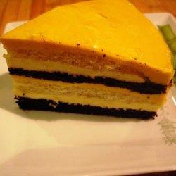 Coconut Cream And Mango Cake
