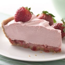 Very Strawberry Mousse Pie