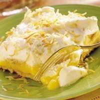 Banana Coconut Cream Dessert