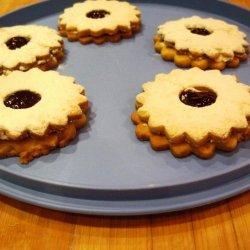 Raspberry Sablee Cookies