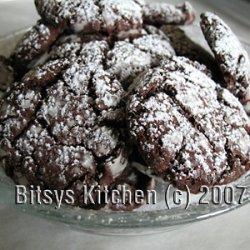 Crispy Truffle Cookies
