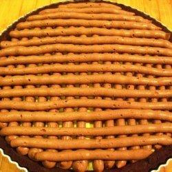 Coconut Cream And Chocolate Ganache Tart