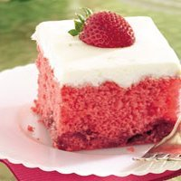 Strawberry Daiquiri Cake recipe