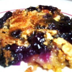 Blueberry Pineapple Dump Cake