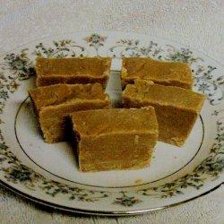 Sugar Free Peanutbutter - Scotch Fudge recipe