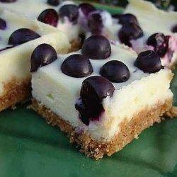 Cream Cheese Blueberry Bars