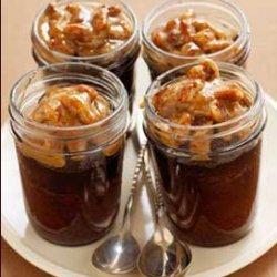 Praline Chocolate Jar Cakes recipe