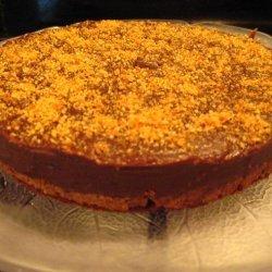 Almond Praline Chocolate Cake