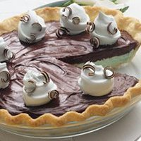 Chocolate-mint Pie