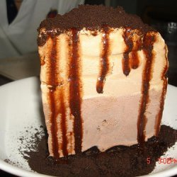 Coffee Ice Cream Pie-mile High recipe