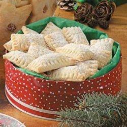 Walnut Filled Pillow Cookies