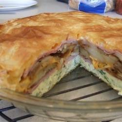 Brunch Omelet Torte