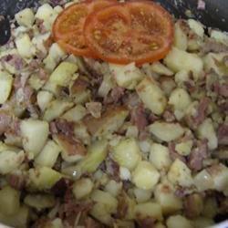 Corned Beef Hash (Abalos style)