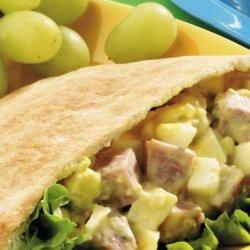 Ham Salad Pitas