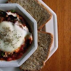 Shakshuka Middle Eastern Breakfast Dish