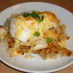 Crab Hash With Old Bay & Basil recipe