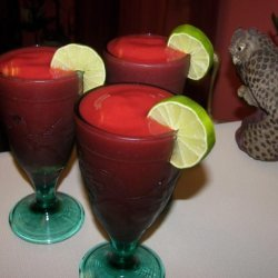 Strawberry-Lime Slushie