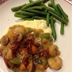 Cajun Shrimp with Cheese Grits